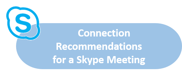 Connection Recommendations for a Skype Meeting